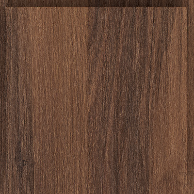 Thermoform-frame velvet walnut decor