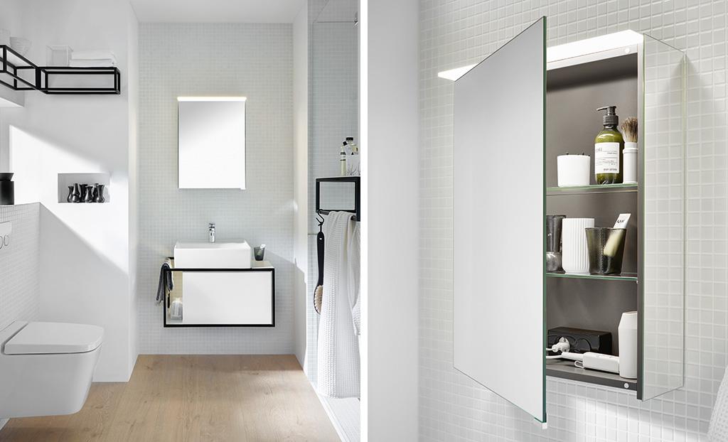 Meubles de salle de bain s rie junit burgbad - Meuble salle de bain fin de serie ...